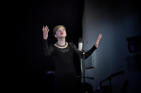 Katie Nowland, Voice